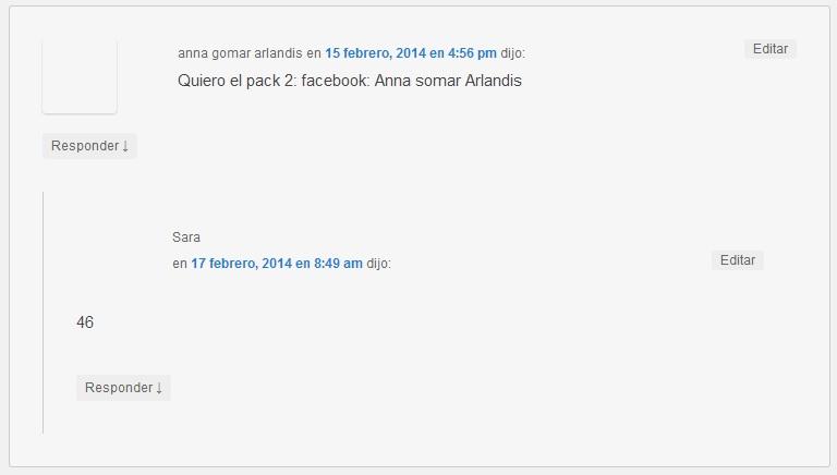 Anna Gomar pack 2