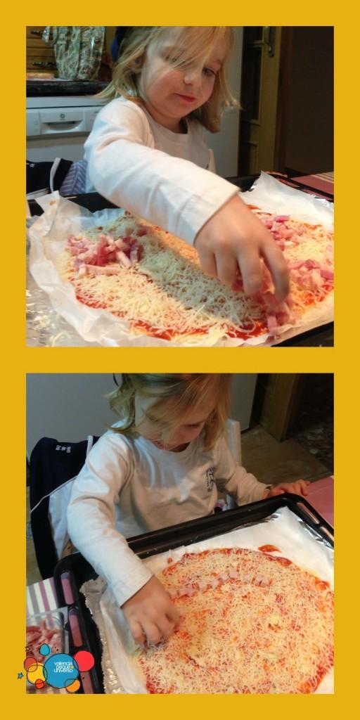 Haciendo pizza-valencia-peque-universo