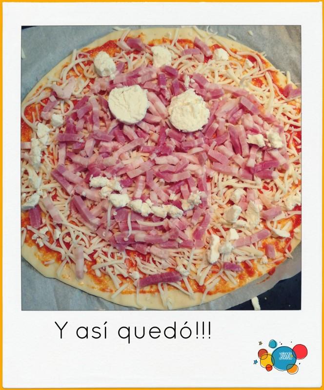 Pizza Peppa Pig-valewncia-peque-universo