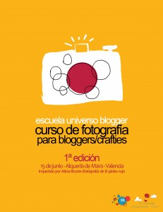 curso fotografia cartel Valencia Peque Universo