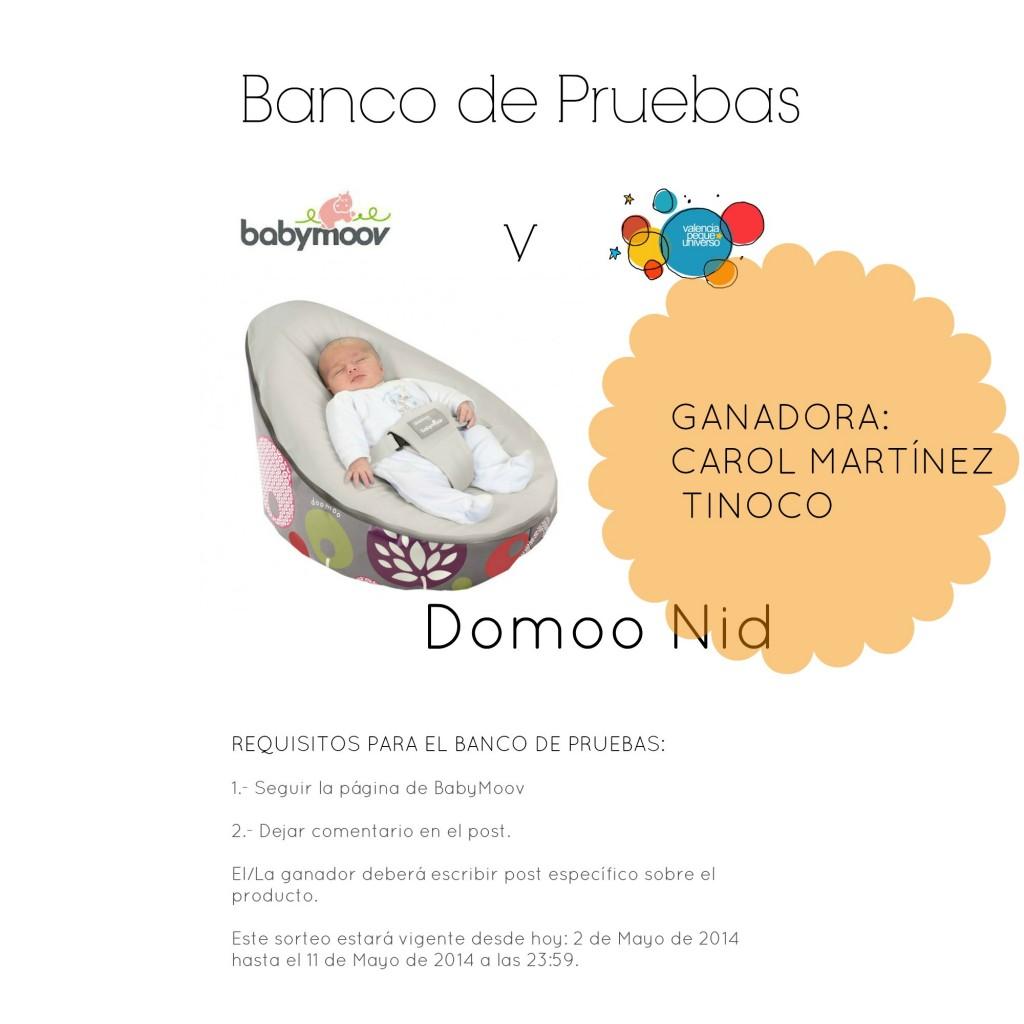 gANADORA Banco de pruebas Domoo Nid