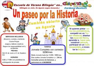 Escuela de Verano Chiquitín Benlloch