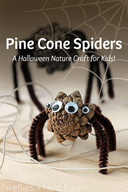 5 manualidades otoño - araña